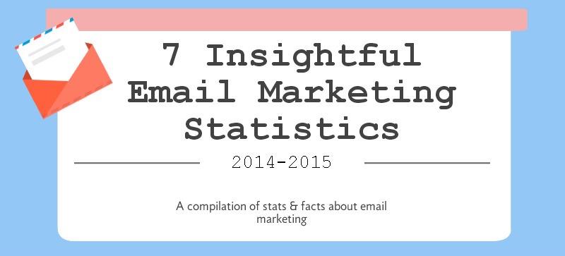 [INFOGRAPHIC] 7 Insightful Email Marketing Statistics