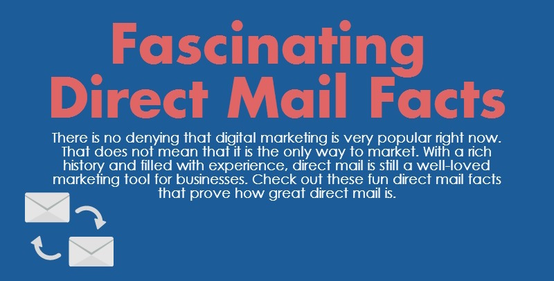 [INFOGRAPHIC] Fascinating Direct Mail Facts