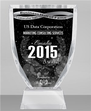 US Data Corporation Receives 2015 Omaha Business Hall of Fame