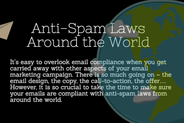 [INFOGRAPHIC] Anti-Spam Laws from Around the World