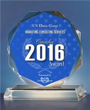 US Data Corporation Receives 2016 Omaha Award